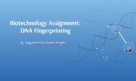Biotechnology Assignment: