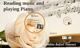Reading music and playing Piano