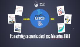 Plan estratégico comunicacional para Telecentros UNAH