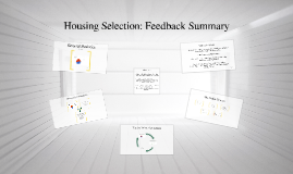 OCL Discussion: Housing Selection Feedback Summary