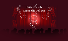 Shakespeare & Commedia Dell'arte