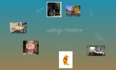 Hailey's Timeline