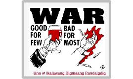 Mga Kaganapan Bago at Matapos ang Unang Digmaang Pandaigdig