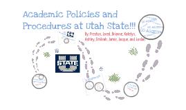 Academics at Utah State