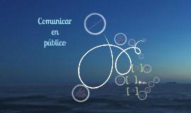 Comunicar en público