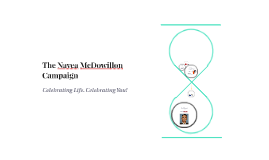 The Navea McDowillon Campaign