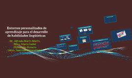 Copy of  Entornos personalizados de aprendizaje para el desarrollo d