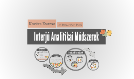 Interjú Analitikai Módszerek