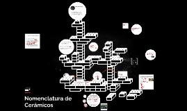 Copy of Nomenclatura de Cerámicos