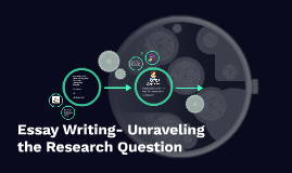Essays- The Unraveling of the Research Question