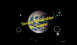 Density relationships