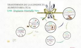 TRASTORNOS DE LA CONDUCTA ALIMENTARIA (TCA)