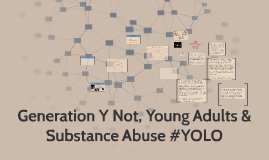 Copy of Final Copy of Generation Y Not, Young Adults & Substance Abuse #YOLO
