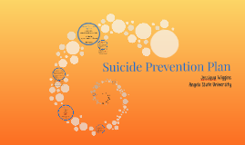 Suicide Prevention Plan