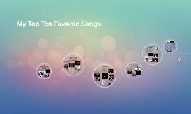 10 songs or whatever