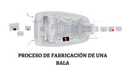 Copy of PROCESO DE FABRICACIÓN DE UNA BALA