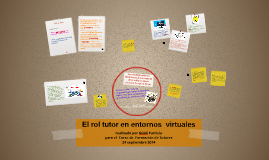 El rol tutor en el aprendizaje virtual