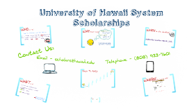 2016-17 UH System Scholarship Process