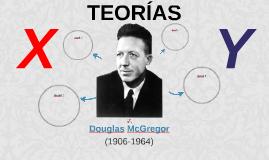 Douglas McGregor Teoría X-Y