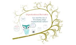 COMM604 Organizational Storytelling