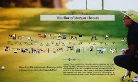 Timeline of Morgan Thomas