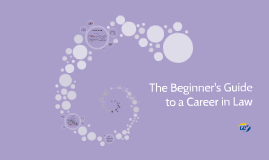 The Beginner's Guide to a Career in Law