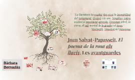 Joan Salvat-Papasseit. Les Avantguardes