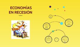Economías en recesión