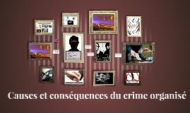 Conséquences des crimes organisés