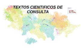 TEXTOS CIENTIFICOS DE CONSULTA