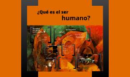 ¿Qué es el ser humano?