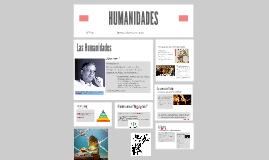 Copy of HUMANIDADES