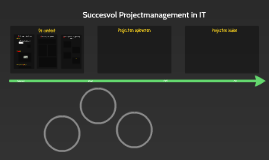 Copy of Succesvol Projectmanagement in IT