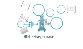 HTML szovegformázás