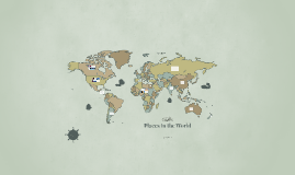 Places in the World