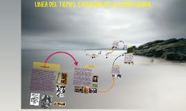 LINEA DEL TIEMPO. EVOLUCION DE LA COMPUTADORA