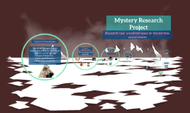 Copy of Mystery Research Project