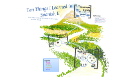 Ten Things I Learned in Spanish II