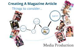 Creating a magazine article