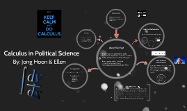 Calculus in Political Science