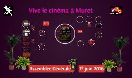 Vive le cinéma à Muret - AG 2016