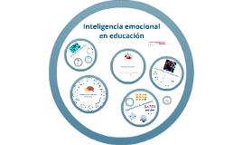 Inteligencia emocional en educación
