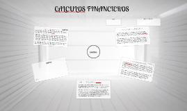 CALCULOS FINANCIEROS