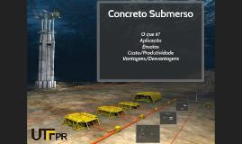 Concreto Submerso