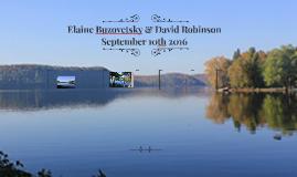 Elaine Buzovetsky & David Robinson