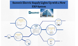 summit electric lights up with a new erp system