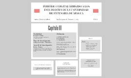 PERIÓDICO DIGITAL DIRIGIDO A LOS ESTUDIANTES DE LA UNIVERSID