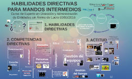 Habilidades directivas para mandos intermedios - EDAESAL 15/16