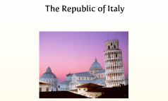 The Republic of Italy