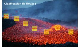 Clasificación de Rocas I